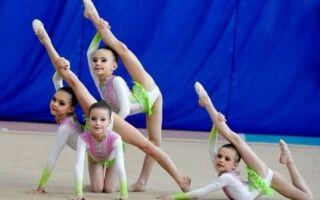 Зі скількох років віддавати дитину на заняття гімнастикою