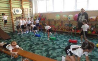 Вправи на гімнастичній лавці