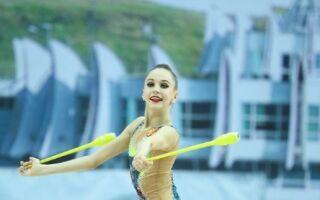 Художня гімнастка Соколова Анна