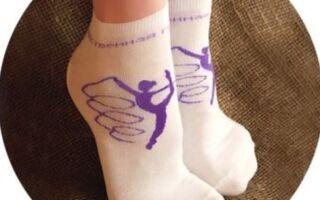 Особливості спортивних гімнастичних шкарпеток