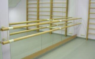 Особливості вибору гімнастичного і хореографічного станка