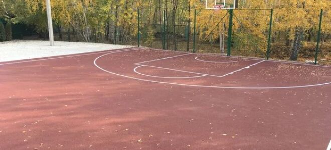 Види спортивного покриття