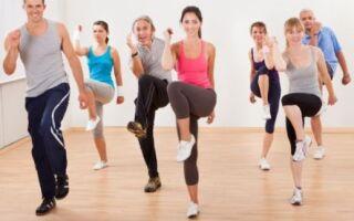 Танцювальна гімнастика — аеробіка
