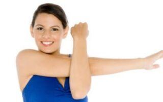 Вправи лікувальної гімнастики при плечолопатковому періартриті