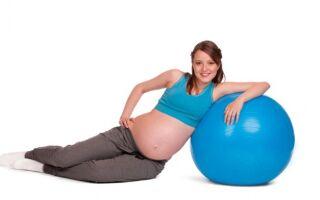 Вправи дихальної і звичайної гімнастики на на першому і другому триместрі вагітності
