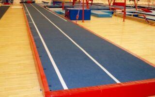 Вибір і характеристики гімнастично-акробатичної доріжки