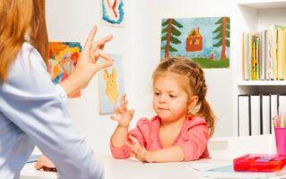 Вправи пальчикової гімнастики для розвитку мови дітей дошкільного віку