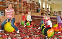 Гімнастика і фітбол в дитячих садках