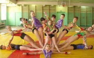 Види одягу для гімнастики