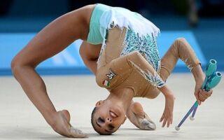 Як вибрати булави чакот для художньої гімнастики