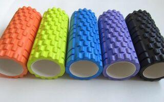 Як обрати гімнастичний валик і циліндр, особливості застосування