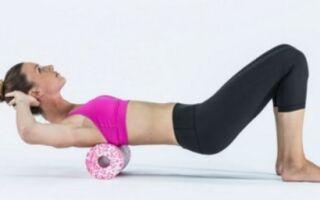 Як використовувати гімнастичний ребристий рол для прокатів