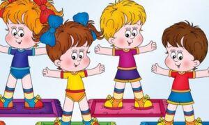 Кричалки для занять фізкультурою і ранковою гімнастикою в дитячому садку