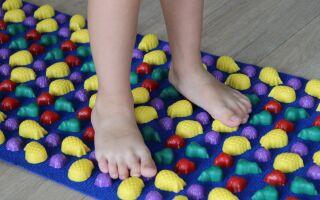 Вправи лікувальної фількультури при клишоногості у дітей