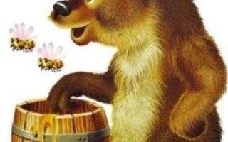 Вправа пальчикової гімнастики про клишоногого ведмедика