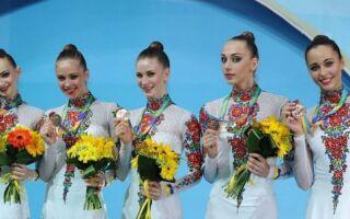Художня і спортивна гімнастика в Україні