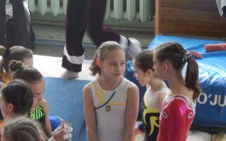 Спортивна гімнастика для дівчат