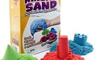 Особливості і виготовлення гімнастичного кінетичного піску