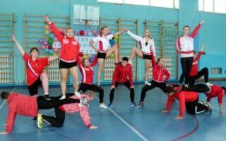 Акробатичні і гімнастичні піраміди для школярів