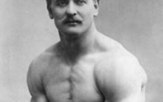Засновник бодібілдінга Сандов та його гантельна гімнастика