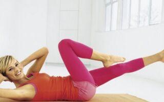 Гімнастика для тренування живота