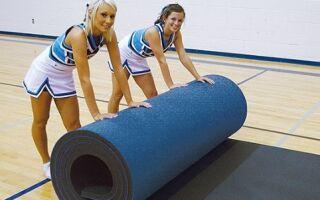 Розміри та інші властивості килима для художньої гімнастики