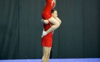 Акробатичні вправи для початківців