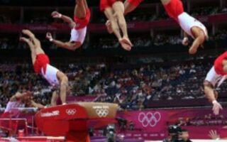 Опорний стрибок через козла у гімнастиці і на фізкультурі