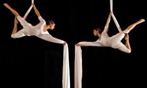 Акробатика і гімнастика на полотнах