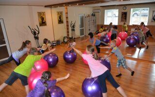 Фітбол для школярів молодших класів