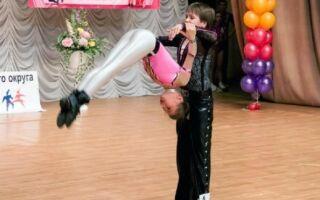 Акробатичні елементи у дитячому танці