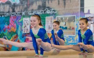 Спортивна гімнастика у чотири роки