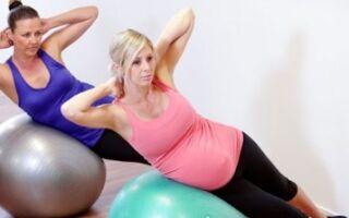 Гімнастичний м'яч для вагітних