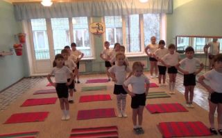 Вправи ритмічної гімнастики в дитячому садку