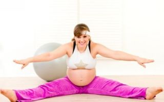 Вправи дихальної і звичайної гімнастики на третьому триместрі вагітності