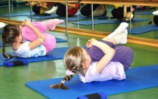 Гімнастичні вправи для дітей з порушенням постави