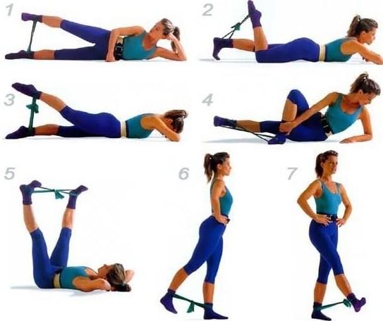 Вправи з гімнастичним жгутом