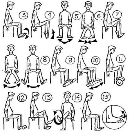 Вправи сидячи