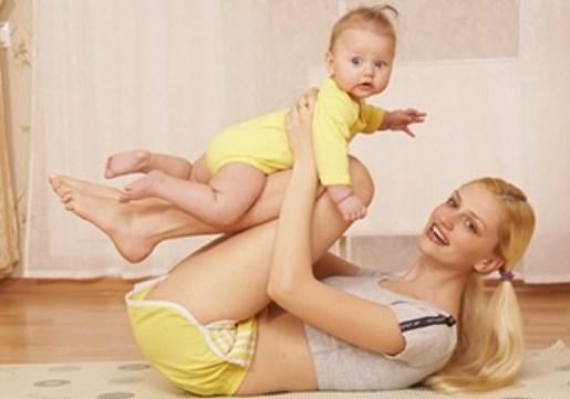 Заняття з мамою