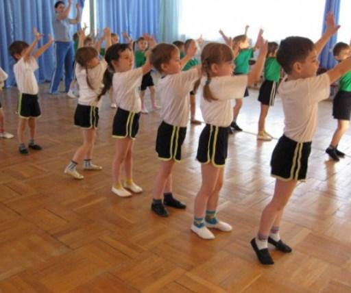 В хореографічному залі